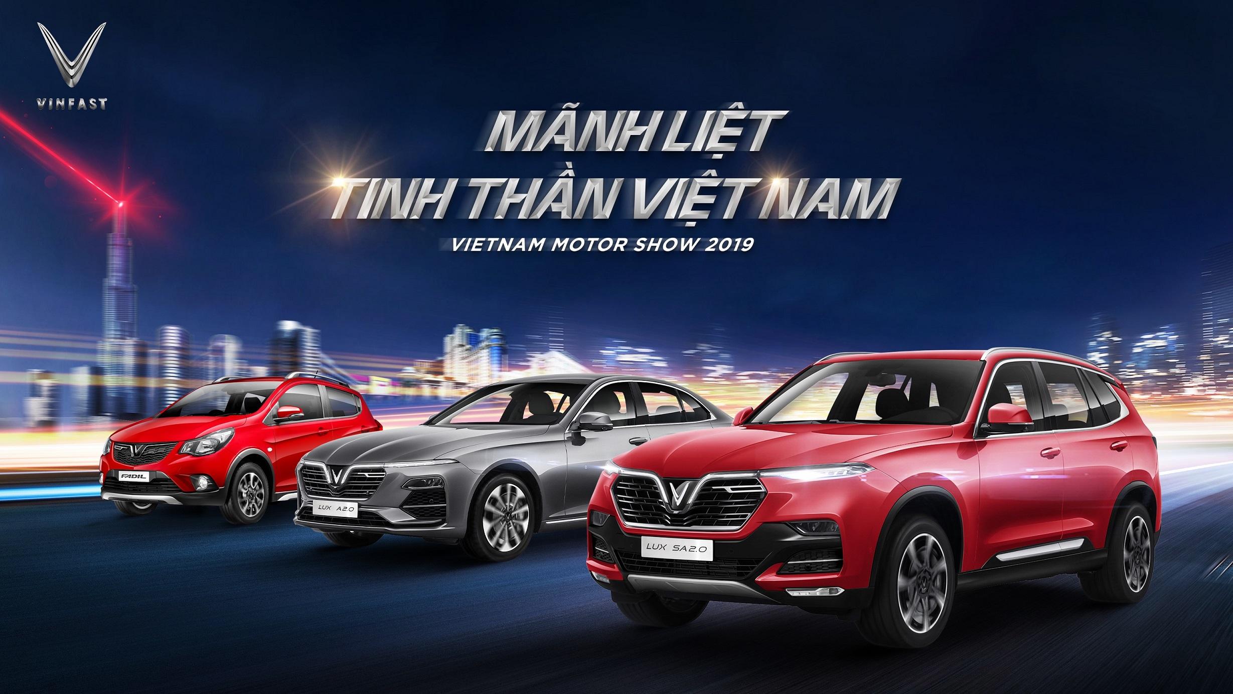 VinFast lần đầu tham dự triễn lãm ô tô VIETNAM MOTORSHOW 2019