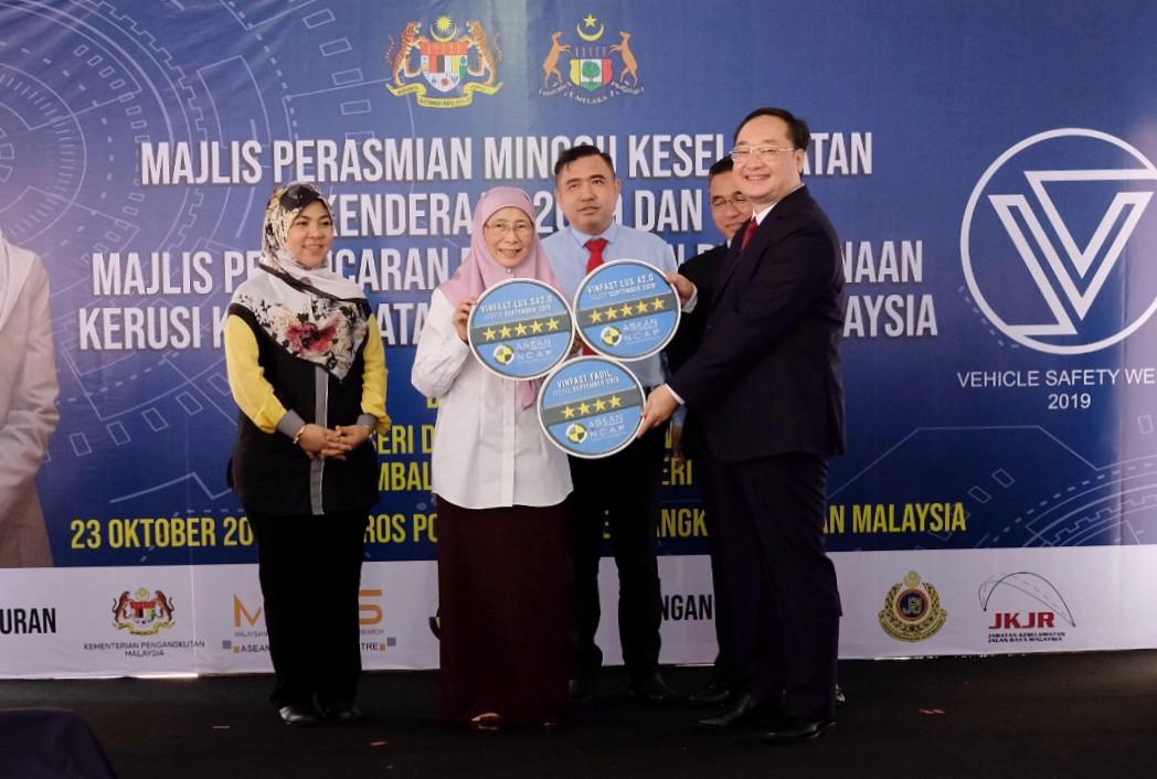 VinFast nhận đánh giá an toàn 5 sao từ tổ chức ASEAN NCAP
