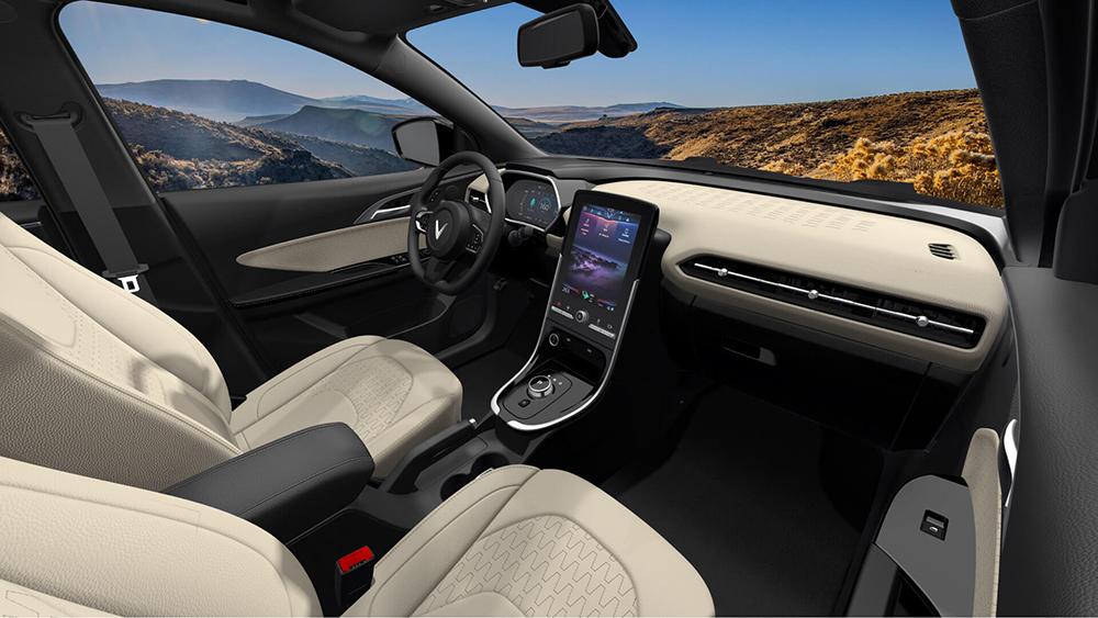 ảnh nội thất xe vfe34