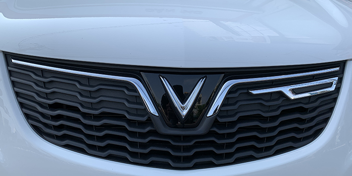 VinFast Fadil có lưới tản nhiệt dạng ruộng bậc thang biểu tượng của Việt Nam