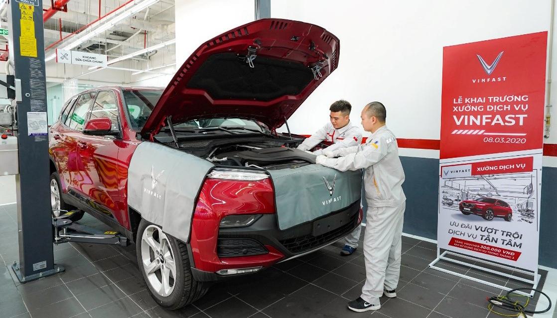 Chi phí bảo dưỡng của VinFast Fadil rẻ hơn đáng kể so với các dòng xe khác