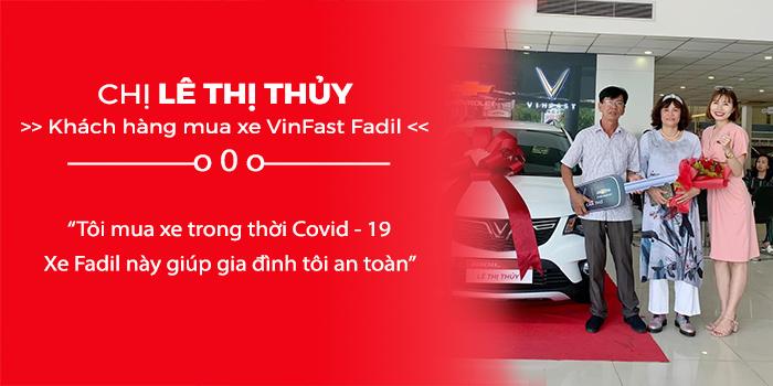 Cảm nhận của chị khách hàng về lý do mua xe VinFast Fadil