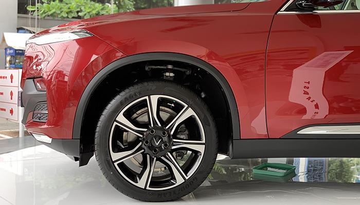 Măm xe 20 inch của vinfast lux sa 2.0 tại vinfast cần thơ