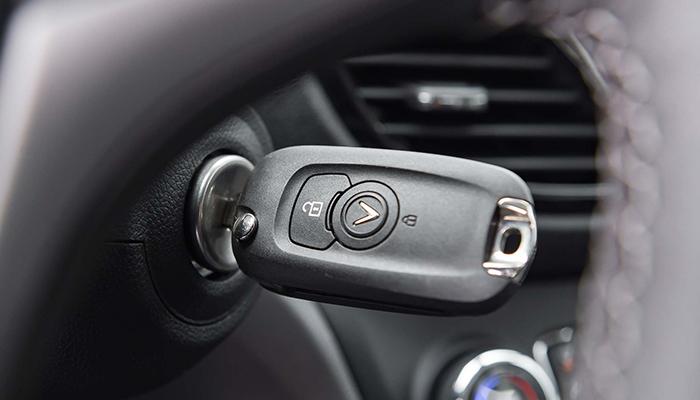 VinFast Fadil tiêu chuẩn được trang bị chìa khóa cơ